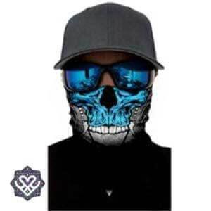 skelet skull bandana