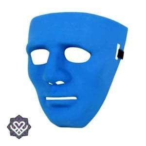festival masker blauw