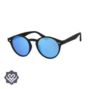 platte glazen zonnebril
