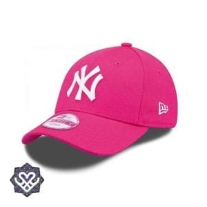 New Era 9Forty Curved cap (940) NY New York Yankees - pink