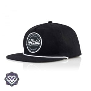 Official Cap Quise Snapback - black