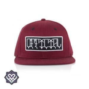 Official Cap Pixos Burg Snapback - red