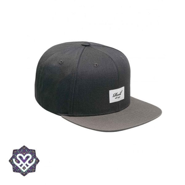 Reell 6 panel Pitchout cap snapback grey - grey