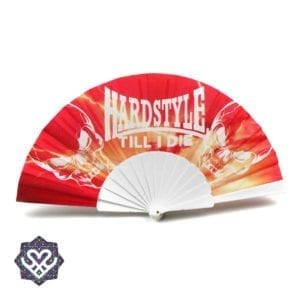 hardstyle waaier rood