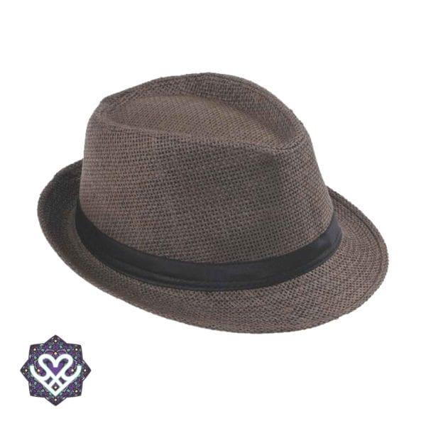 Panama hoed - bruin