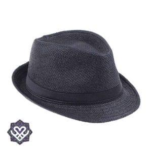 panama hoed zwart