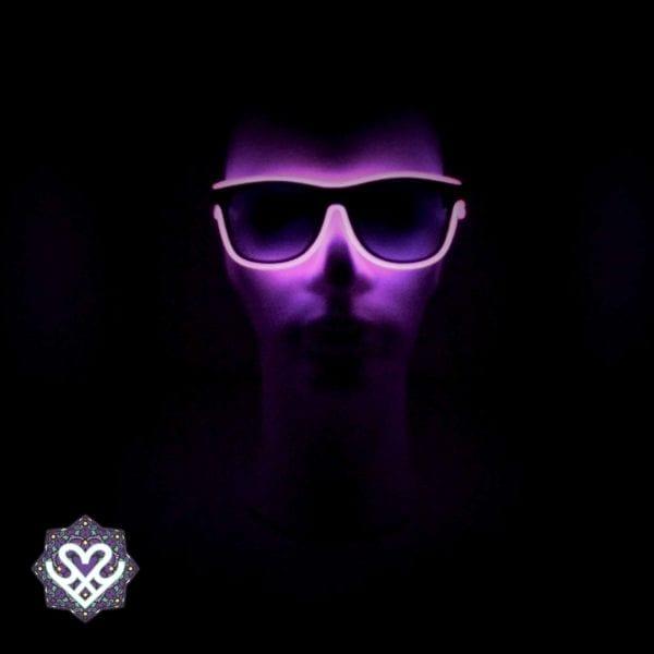 rave gadgets roze led bril