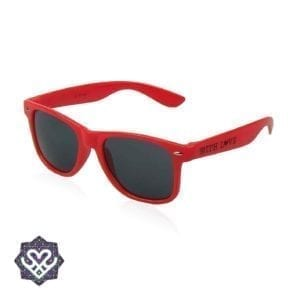 goedkope rode zonnebril