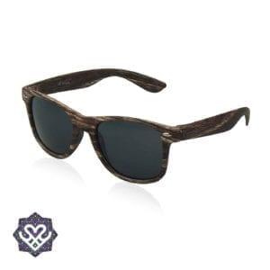 houten ray ban zonnebril