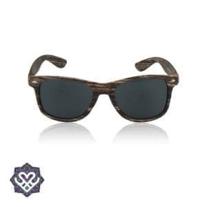 houten wayfarer zonnebril