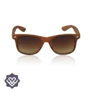 wayfarer zonnebril hout