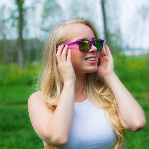 neon zonnebril vrouwen