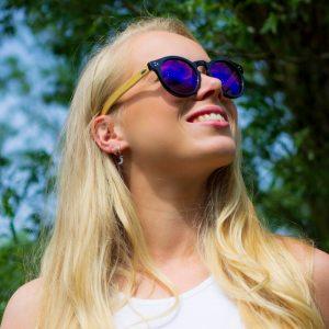 zonnebrillen kopen paars