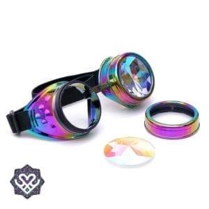 kaleidoscoop goggle glasses