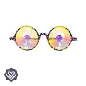 ronde kaleidoscope bril