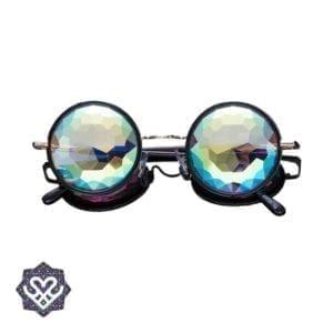 caleidoscoop bril ronde glazen