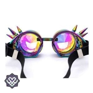 caleidoscoop steampunk goggle party gadget