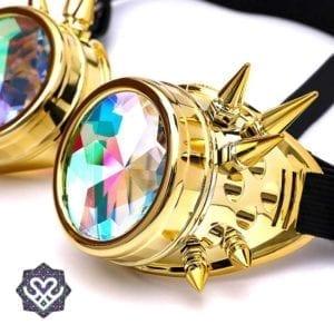 kaleidoscope goggle steampunk bril