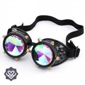 kaleidoscope glasses goggle