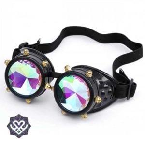 kaleidoscope glasses goggle