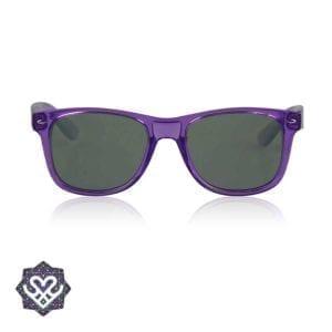 paarse spacebril regenboog glazen
