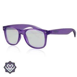 paarse spacebril festival gadgets