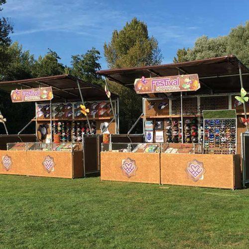 merchandise stand festival