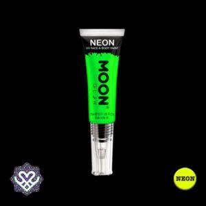 neon paint groen