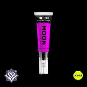 neon verf paars
