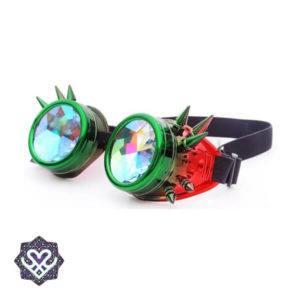 goedkope caleidoscoop goggle steampunk