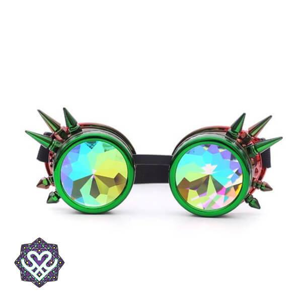 party bril caleidoscoop goggle steampunk