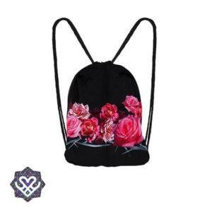 sporttas met rozen