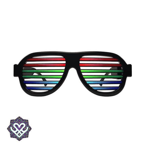 goedkope festival gadgets led bril