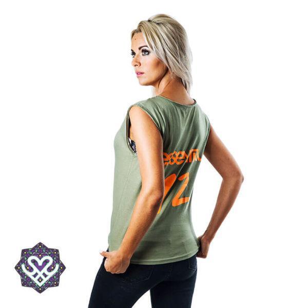 Essential Army Green - woman
