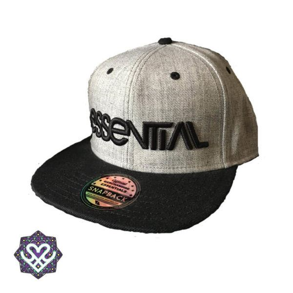 Essential Snapback Grey