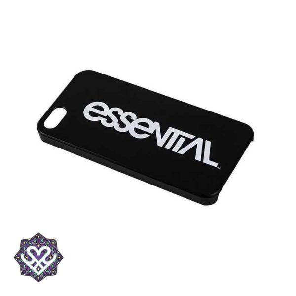 Iphone Cover 5 & 5s - zwart