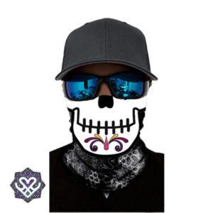skull bandana mouth