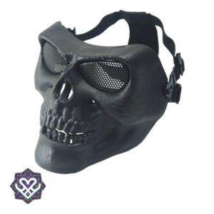 skelet festival masker