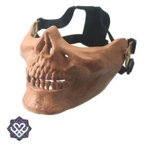 skelet masker brons