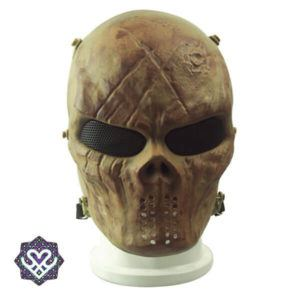 skelet paintball masker