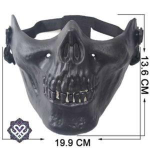 Skelet face masker