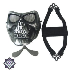 skull mask paintball