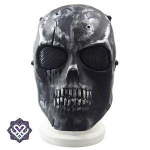skull mask paintball