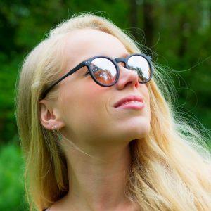 Vrouwen zonnebrillen