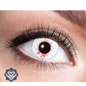 party lens bloedend oog
