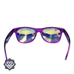 caleidoscoop regenboog bril