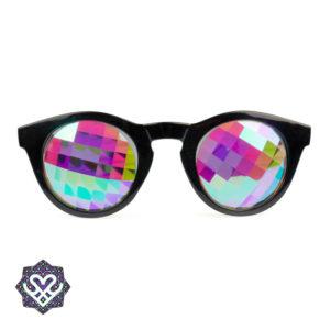 gekleurde glazen partybril