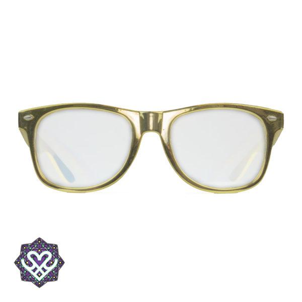 gouden spacebril