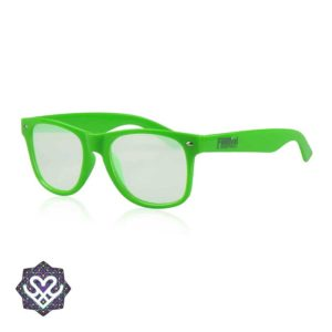 groene spacebril cirkel effect lens