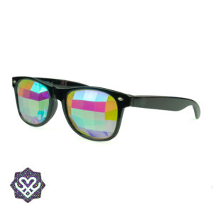 hallucineer bril zwart montuur